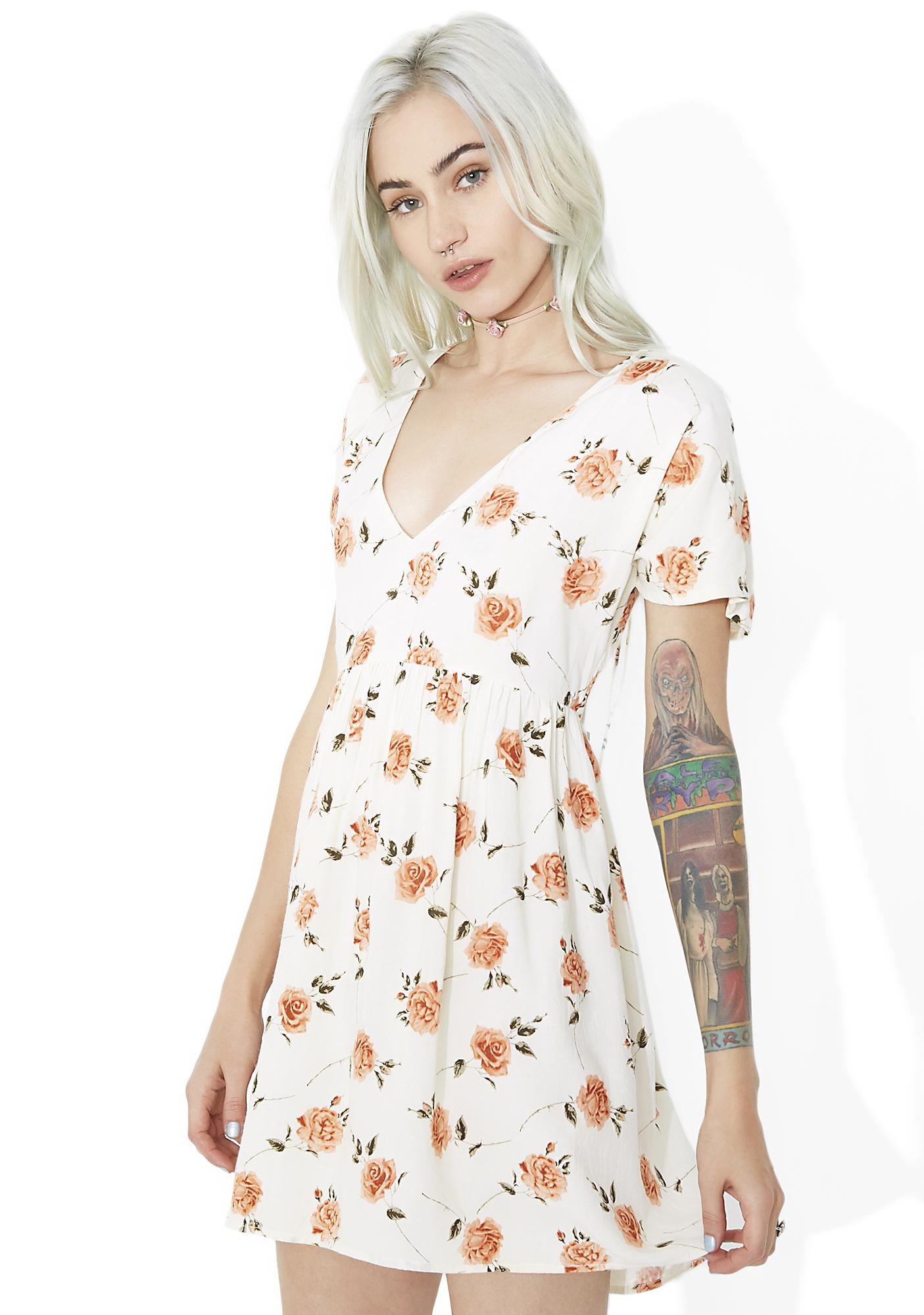 Motel Salazar Babydoll Dress