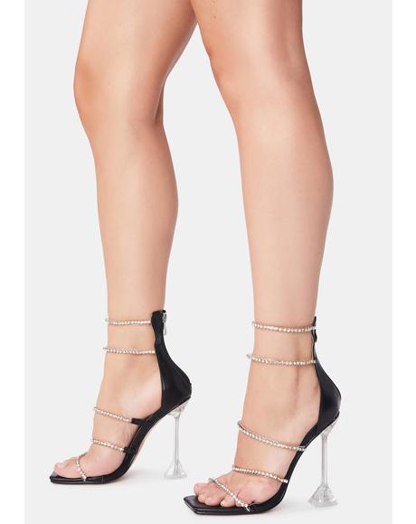 Onyx Certified Heiress Heels