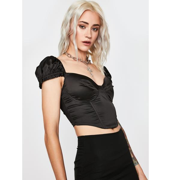 Blissful Delicacy Corset Top