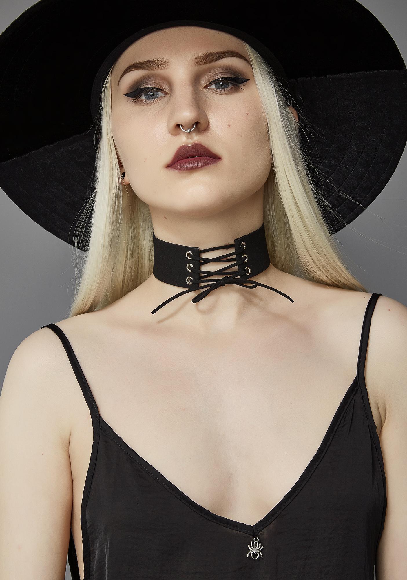 Widow Death Wish Slip Dress