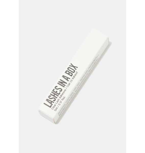 LASHES IN A BOX Clear Lash Adhesive