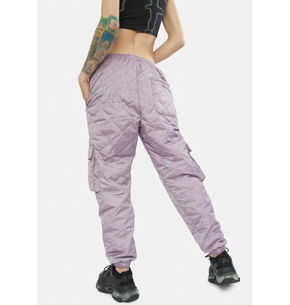 GRIMEY Yoga Fire Padded Pants