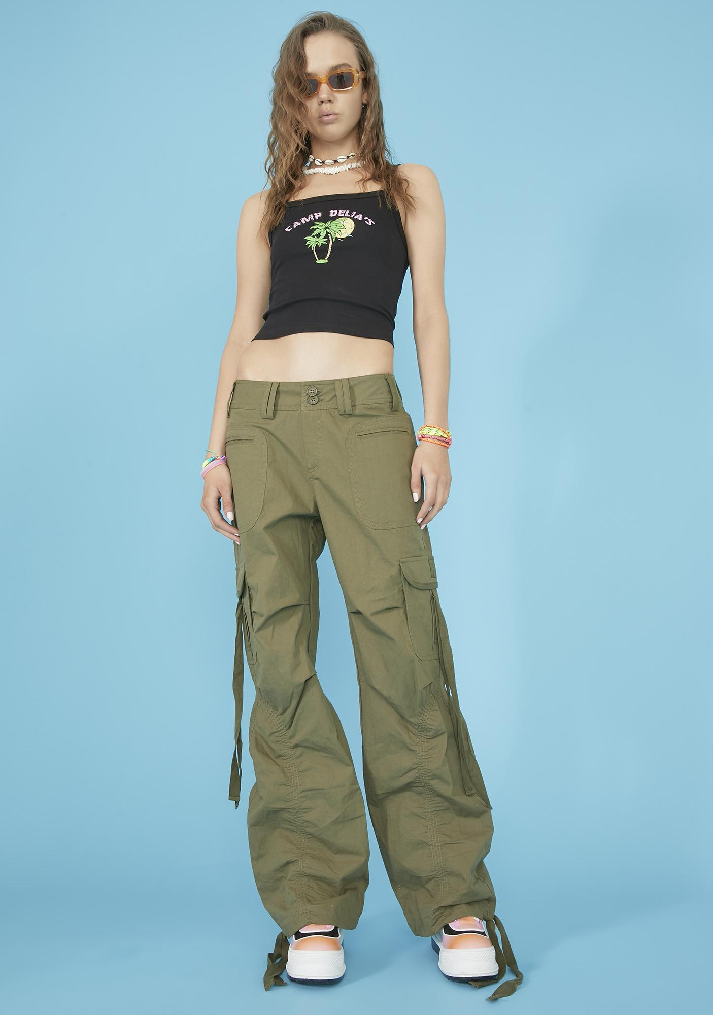 dELiA*s by Dolls Kill On My Grind Cargo Pants