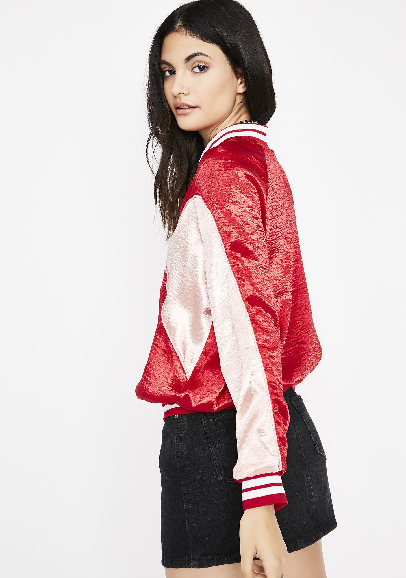 Siren Fresh Swag Satin Jacket