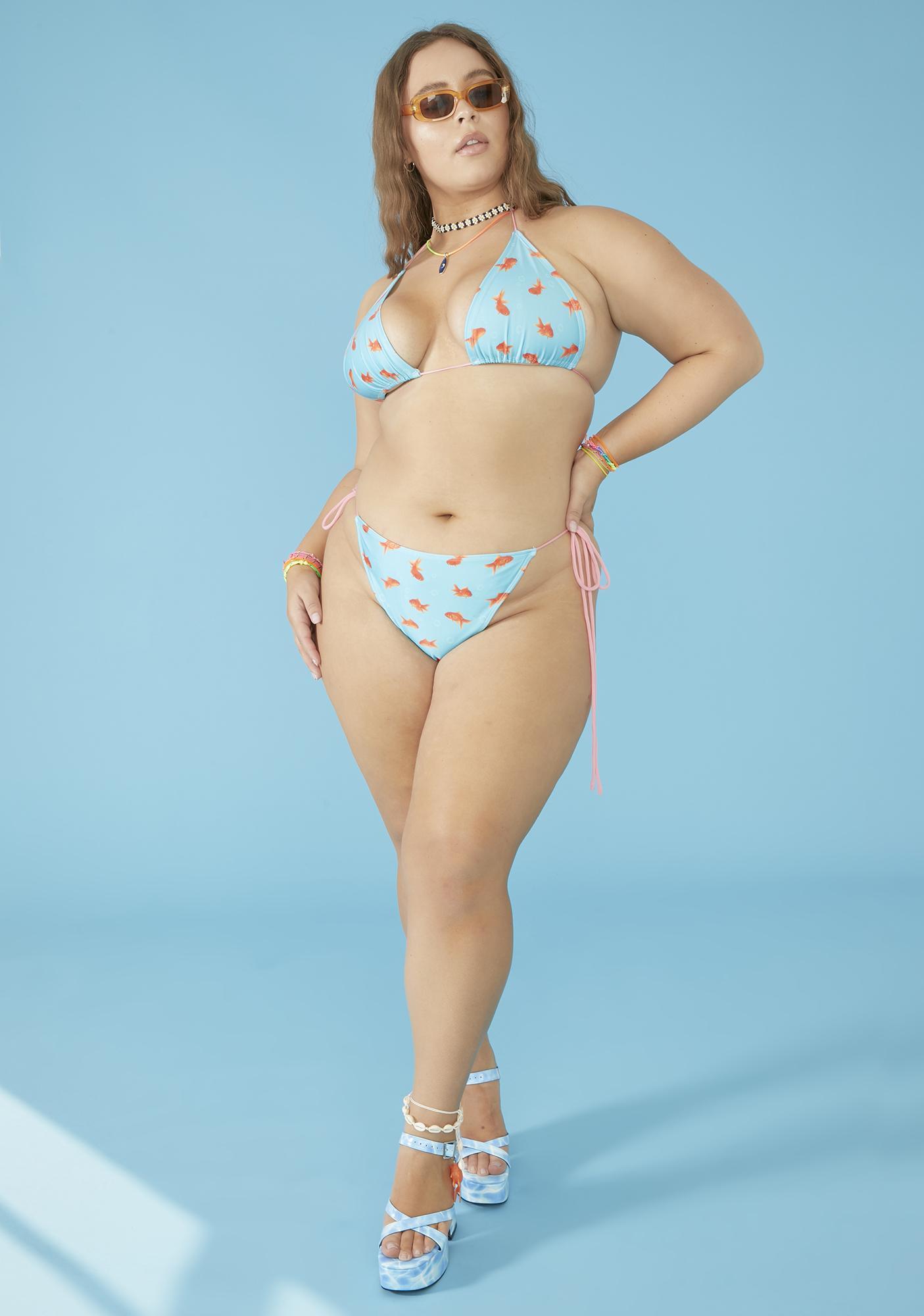 dELiA*s by Dolls Kill Total Fish Outta Water Bikini Set