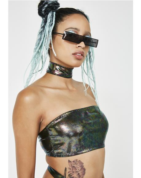 Supreme Freak Oil Slick Tube Top