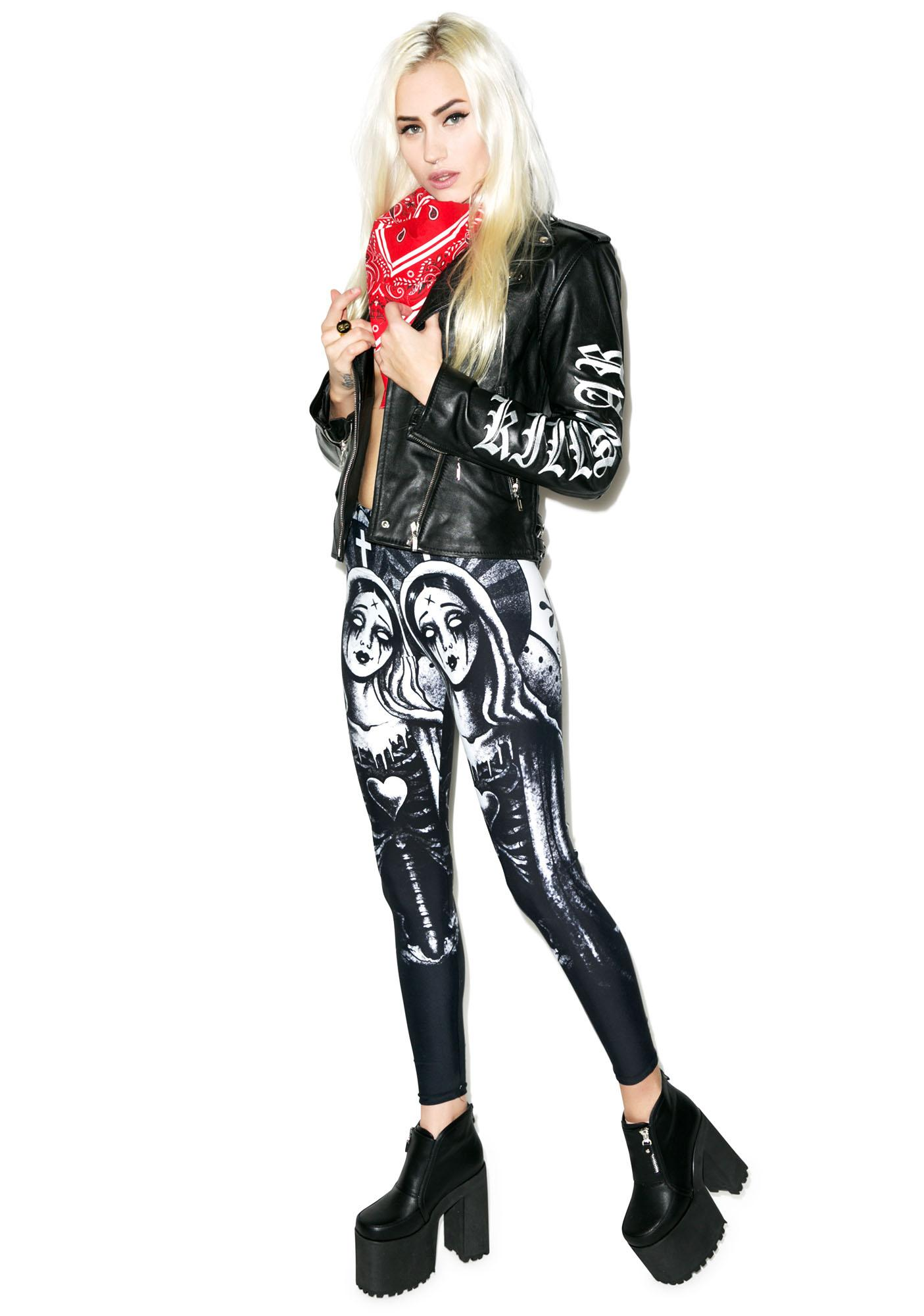 Too Fast Zombie Mary Lexy Leggings