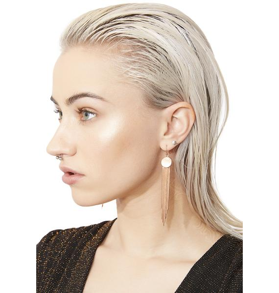 Top Notch Fringe Earrings