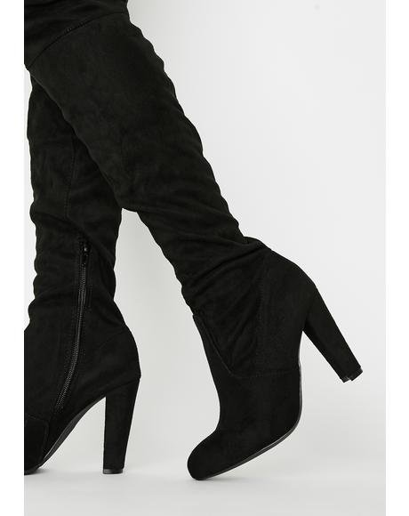 Night Stalker Knee High Boots