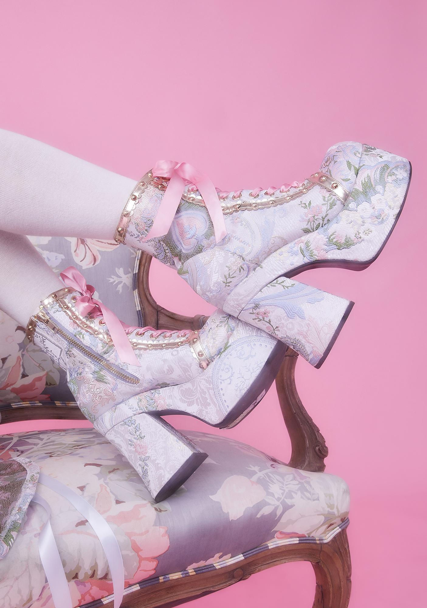 Sugar Thrillz Fairest Of All Platform Boots