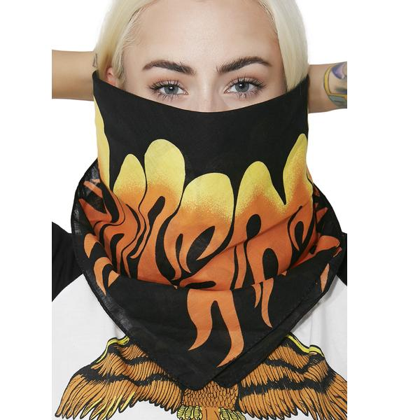 Smokin' Hottie Flame Bandana