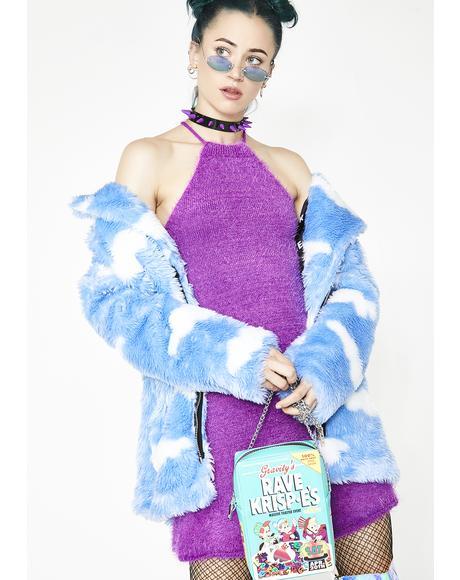 Freeky Deeky Fuzzy Dress