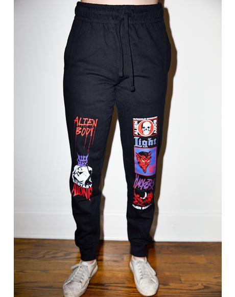 Ultraviolet Mythology Graphic Joggers