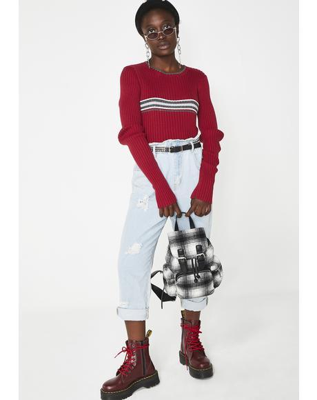 Vintage 00s Rib Sweater