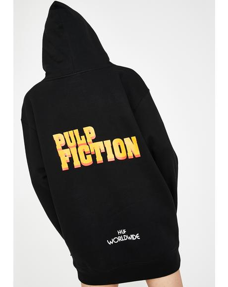 x Pulp Fiction Burger Pullover Hoodie