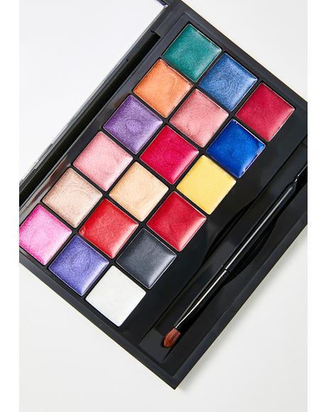 Freedom Creator Shimmer Lip Palette
