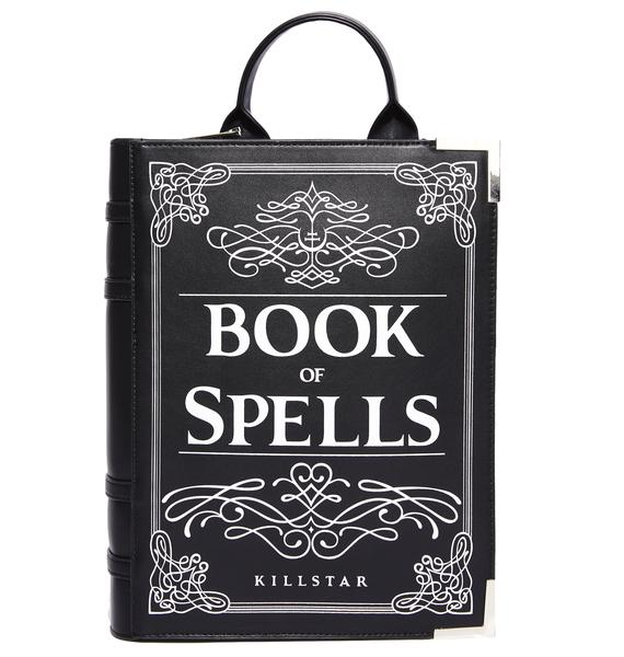 Killstar Book Of Spells Backpack