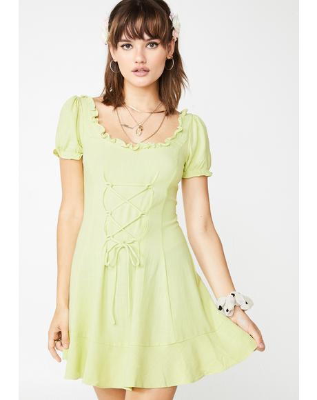 Prairie Babe Babydoll Dress