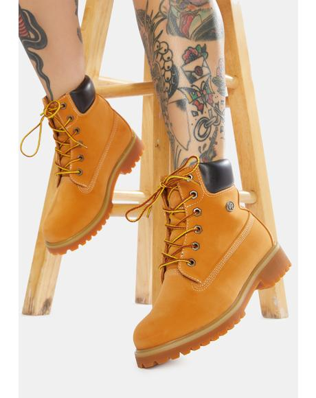 Tan Convoy 6-Inch Boots