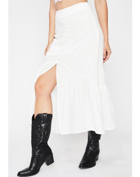 Boot Scootin' Midi Skirt