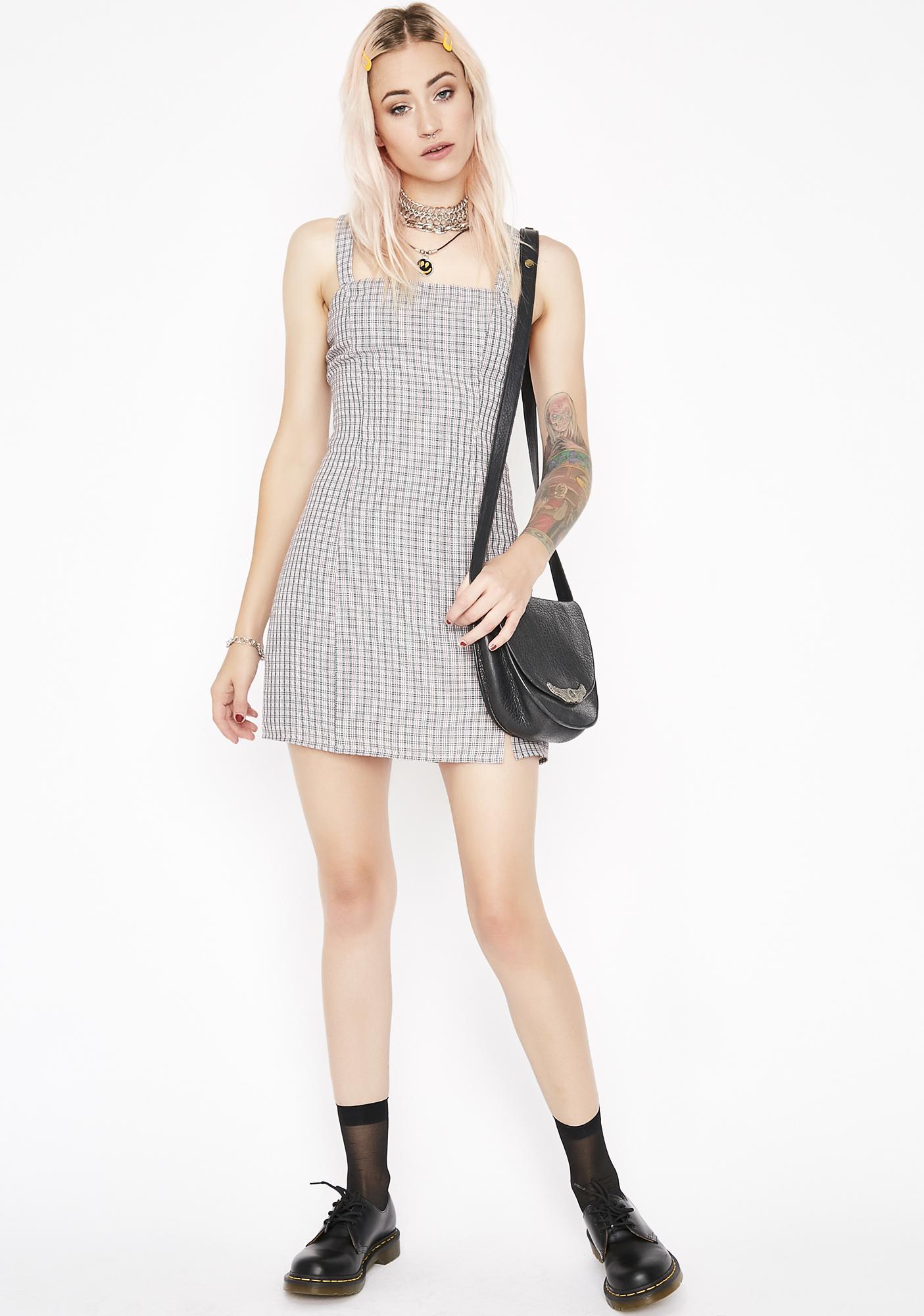 Plaid Zaddy Mini Dress
