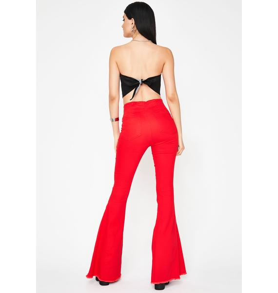 Blazed Hippie Chic Bell Bottoms