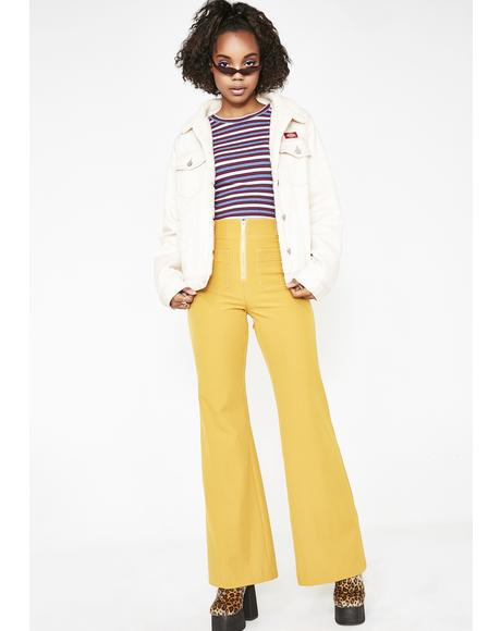 Sunflower Dreamy Energy Flare Pants