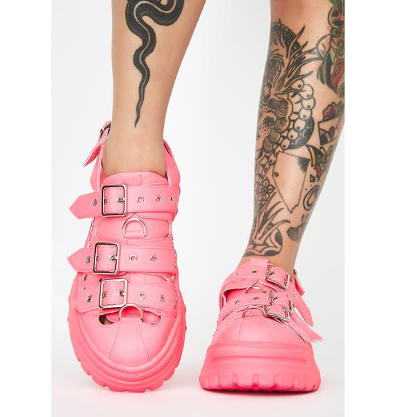 Candy Best Life Buckle Platforms
