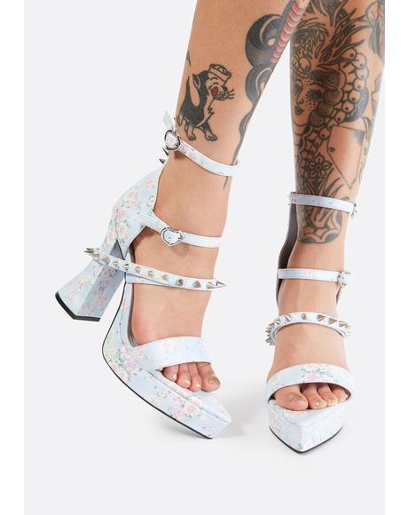 Love & War Studded Heels