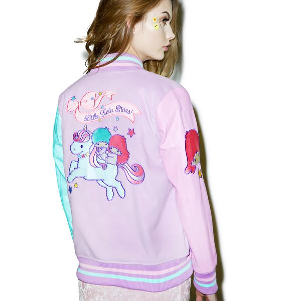 Japan L.A. Little Twin Stars Varsity Jacket
