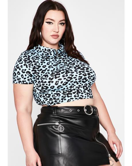 Her Prissy Prowl Crop Top