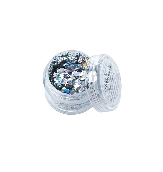 In Your Dreams Silver Selene Chunky Glitter