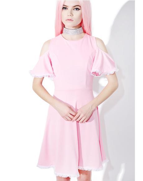 Gum Drop Flare Dress