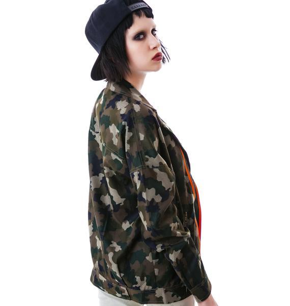 Cadet Kelly Camo Jacket