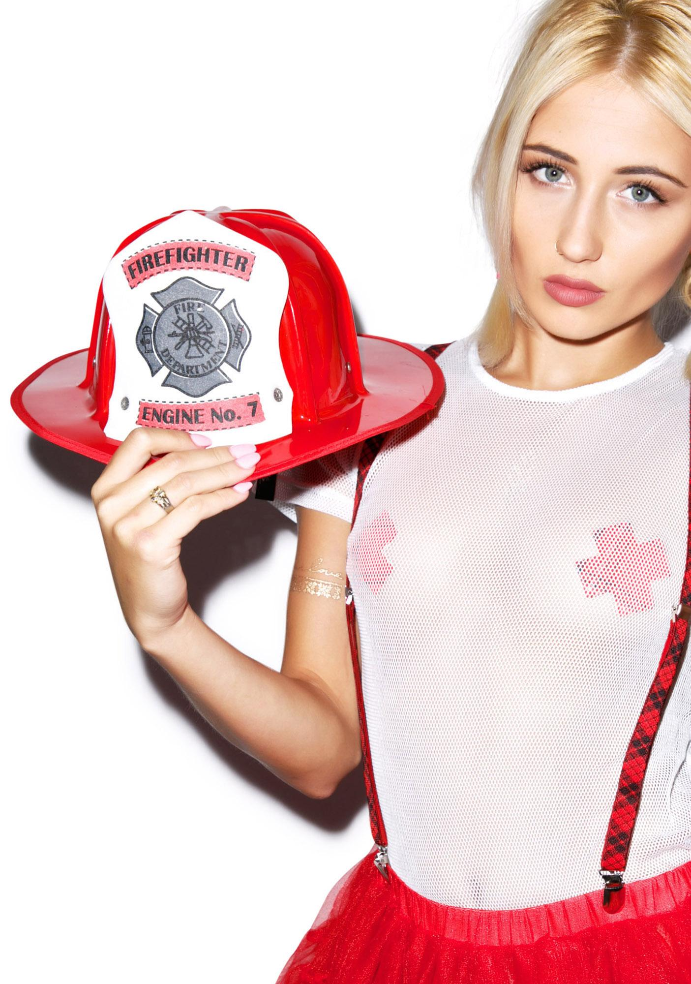 Smokin Hot Firefighter Helmet