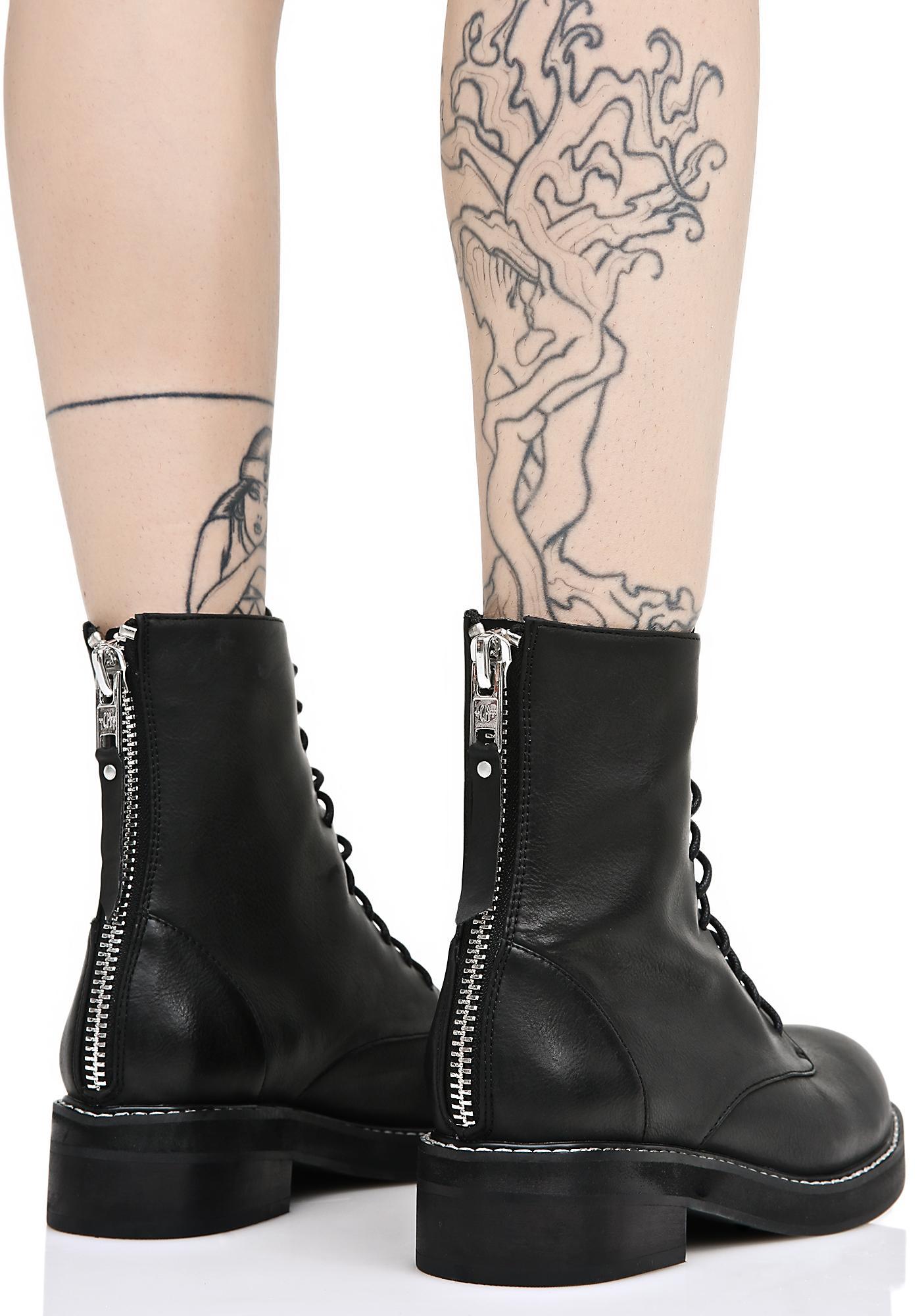 Current Mood Eyeletless Boots