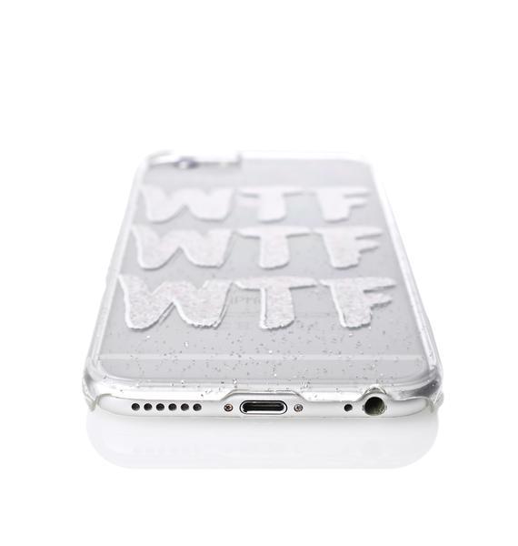 Skinnydip WTF iPhone Case