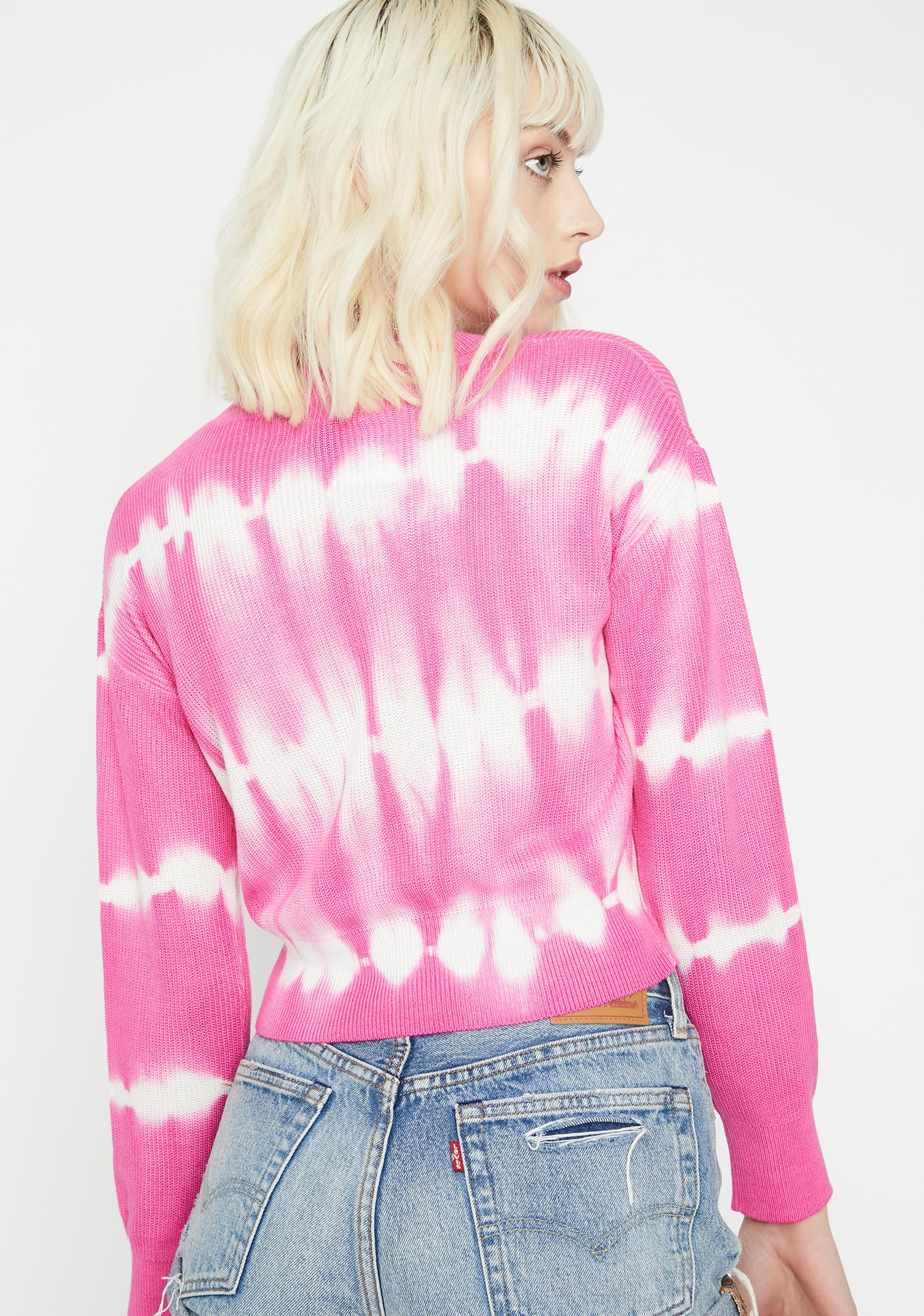 Candy Chillin' Out Tie Dye Sweater