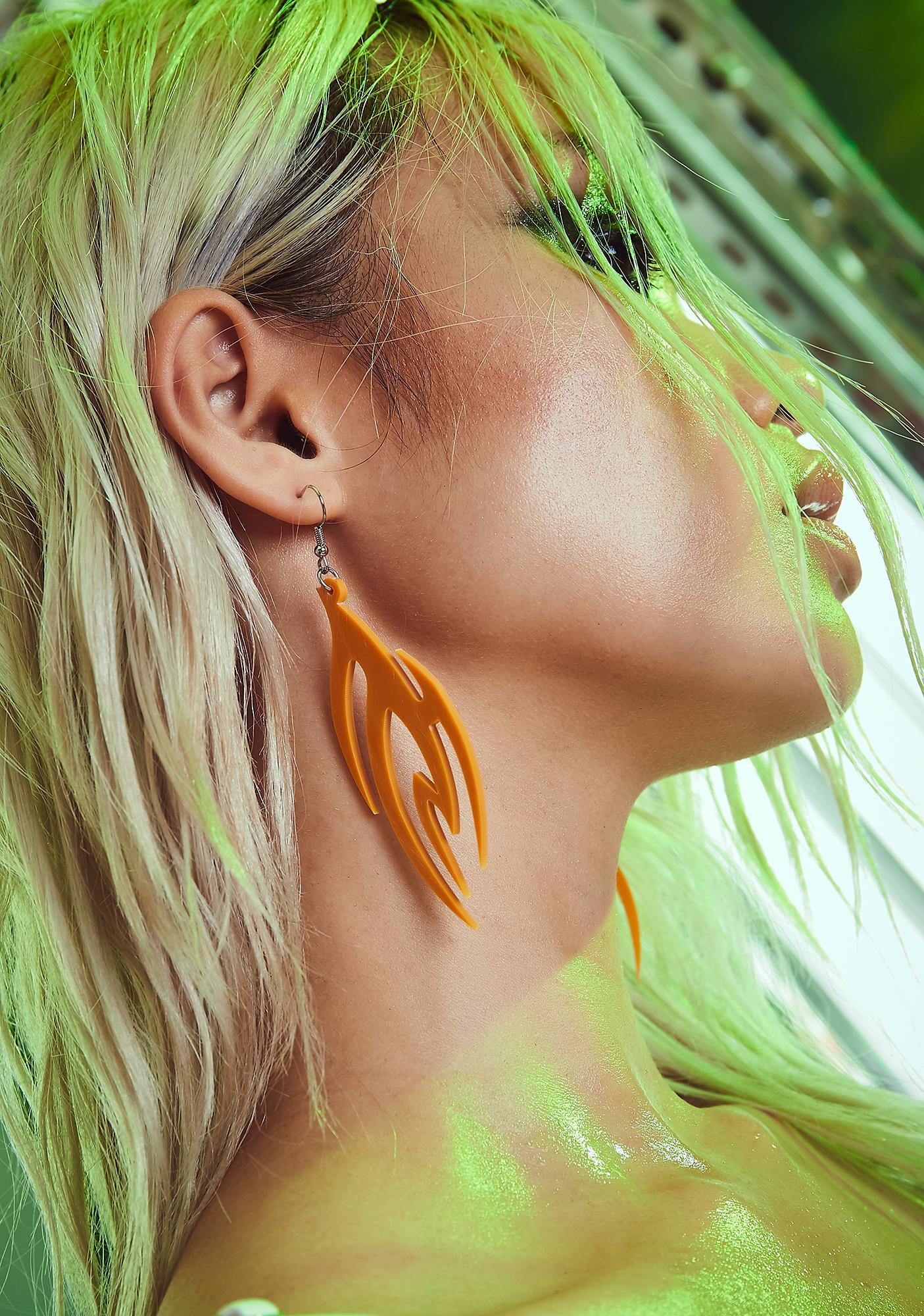 Taste Of Toxins Drop Earrings