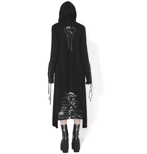 Killstar Gail Graves Ribbed Cardigan