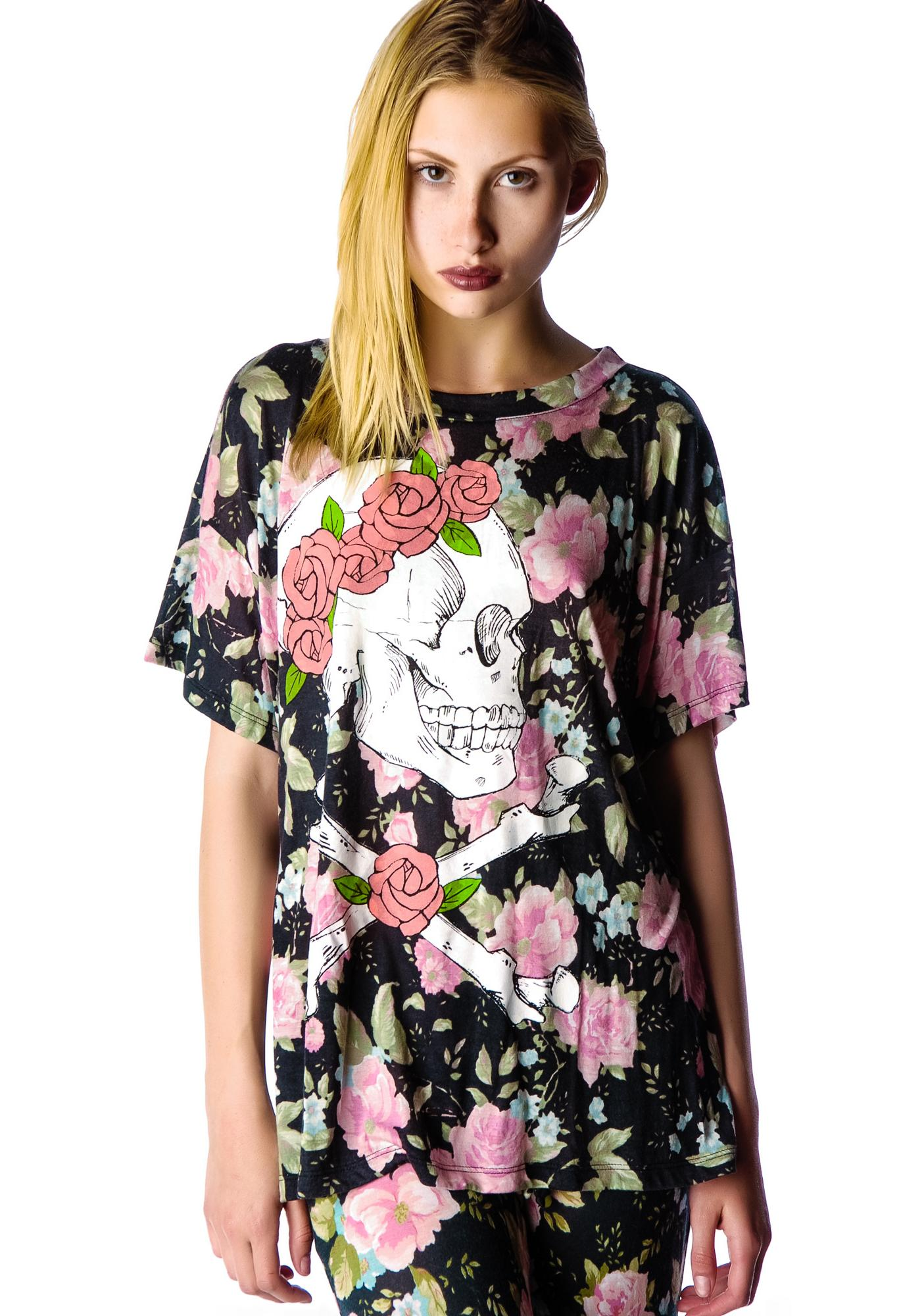 Wildfox Couture Dead Head Donovan Tee