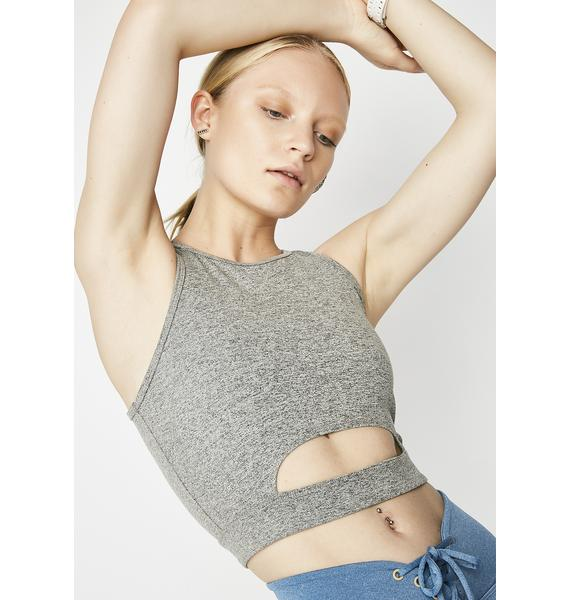 Year Of Ours Cut Out Sports Bra
