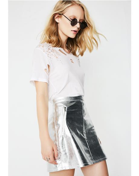 Glitzy Babe Mini Skirt