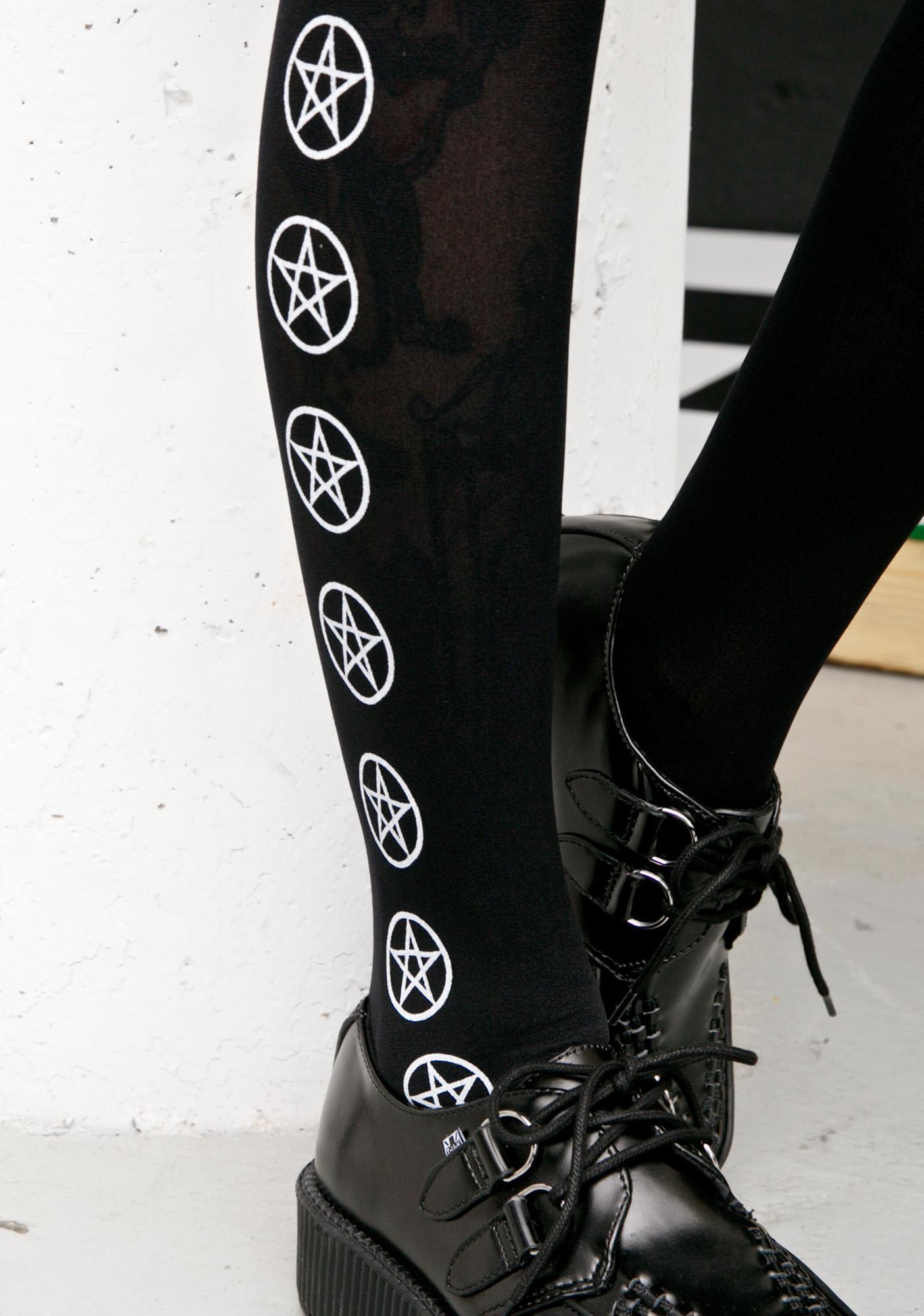 Born Evil Pentagram Tights