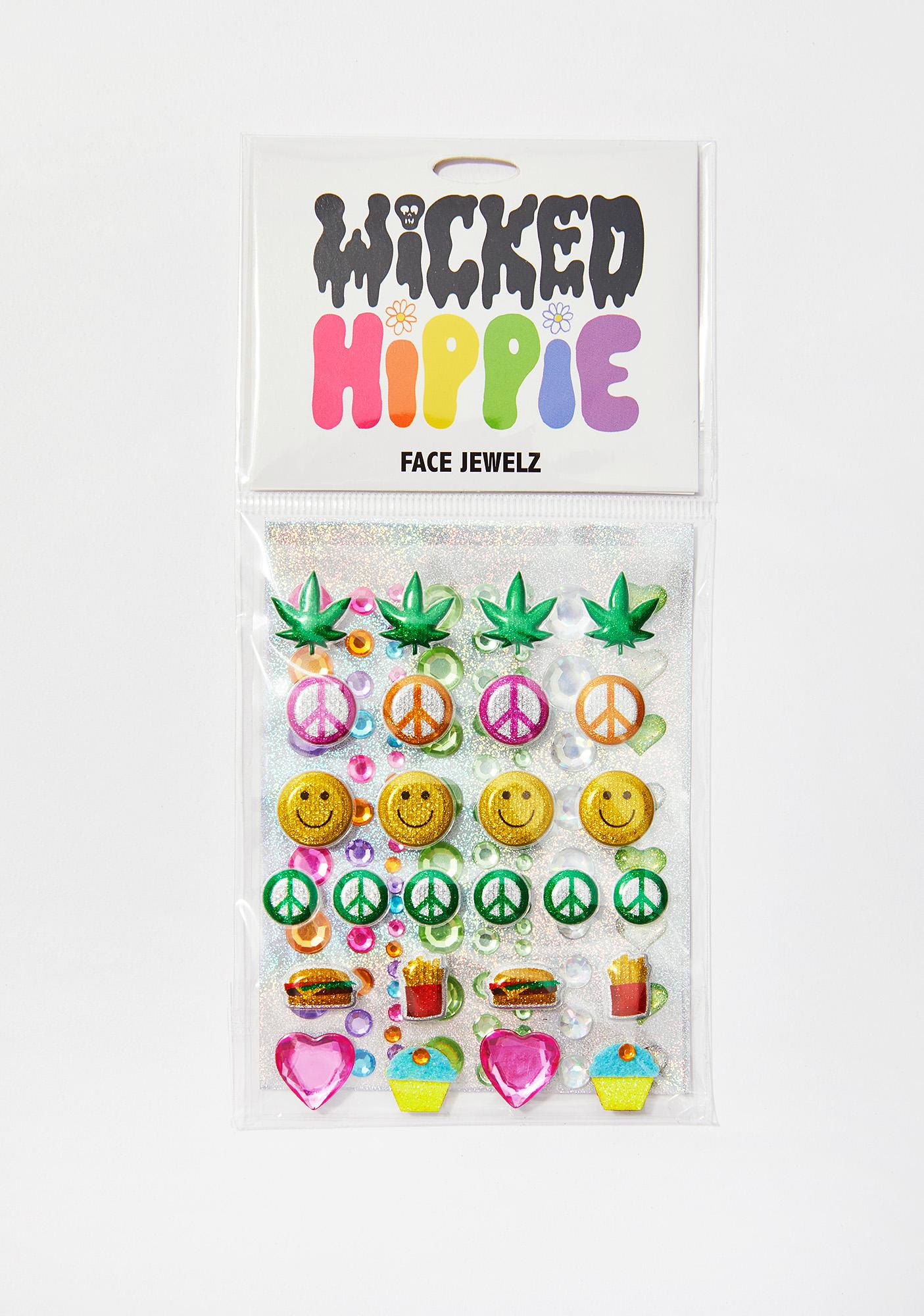 Wicked Hippie Munchies Face Jewelz