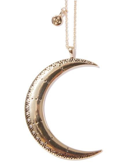 Over The Moon Necklace