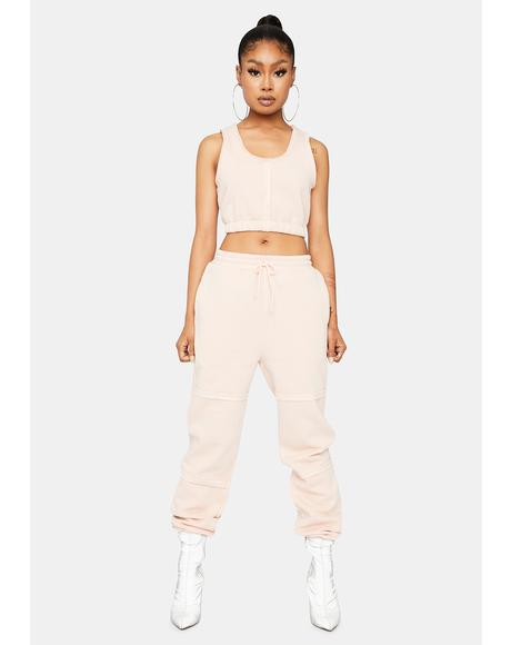 Dress It Down Jogger Set