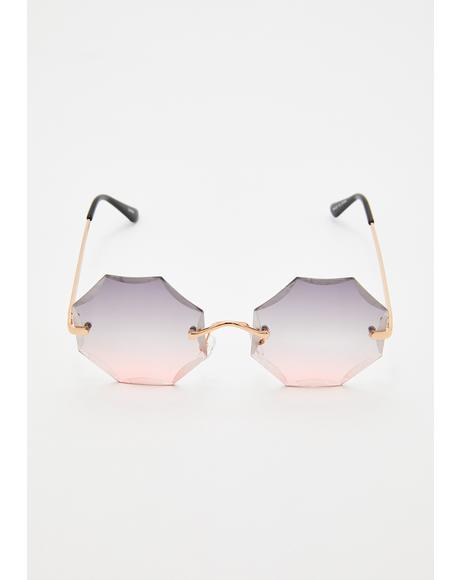 Cognac Daze Ombre Sunglasses