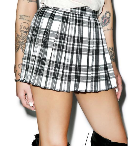 Tripp NYC Micro Mini Pleated Skirt