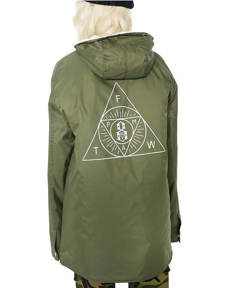 Sect Hooded Parka